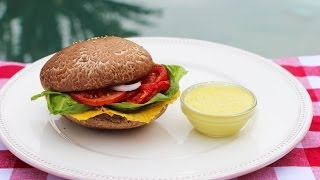 "How To Make A Raw Vegan Burger And ""special Sauce""!"