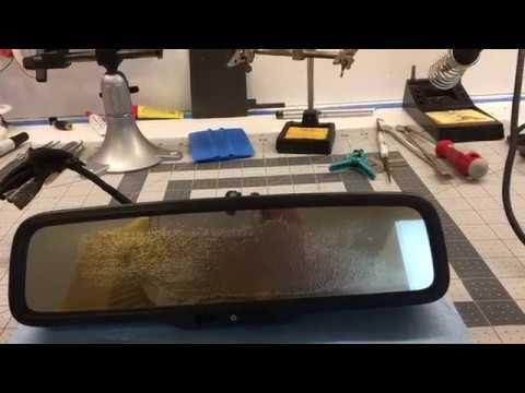 honda pilot rear view mirror repair youtube