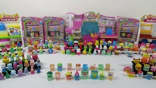 Our Complete Shopkins Collection Including Limited Edition Season One 1