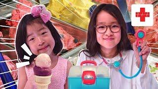 병원놀이 장난감세트 아이스크림가게놀이 Pretend Play ice cream shop toy Doctor kit