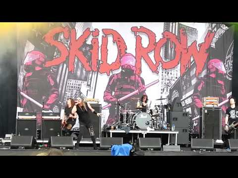 Skid row - 18 and life, download festival 2014