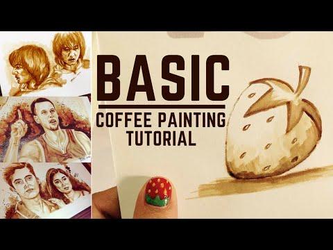 Basic Coffee Painting Tutorial by Pilar