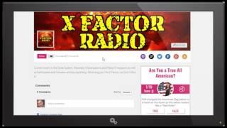 NIBIRU / PLANET X NEWS.. X FACTOR RADIO SHOW INTRODUCTION