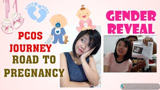 PCOS JOURNEY ROAD TO PREGNANCY   GENDER REVEAL