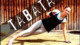 Tabata Live Workout - Fett verbrennen - Bauch Beine Po - Sixpack - Straffe Beine - Knackpo