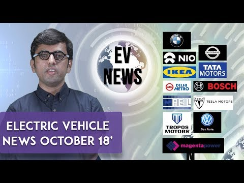 Electric Vehicle Industry News Roundup | October 2018