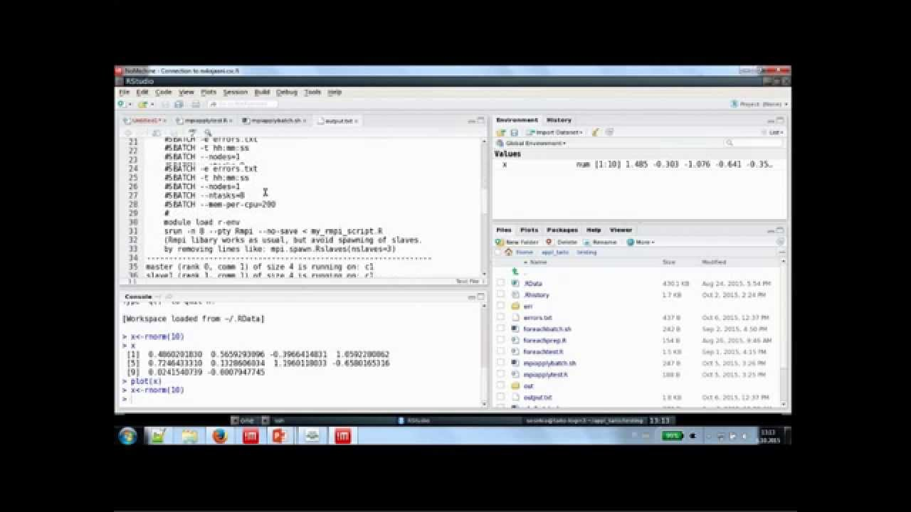 Webinar: How to run command line R and GUI based RStudio at CSC