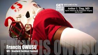 Stanford Football - WR • Francis Owusu