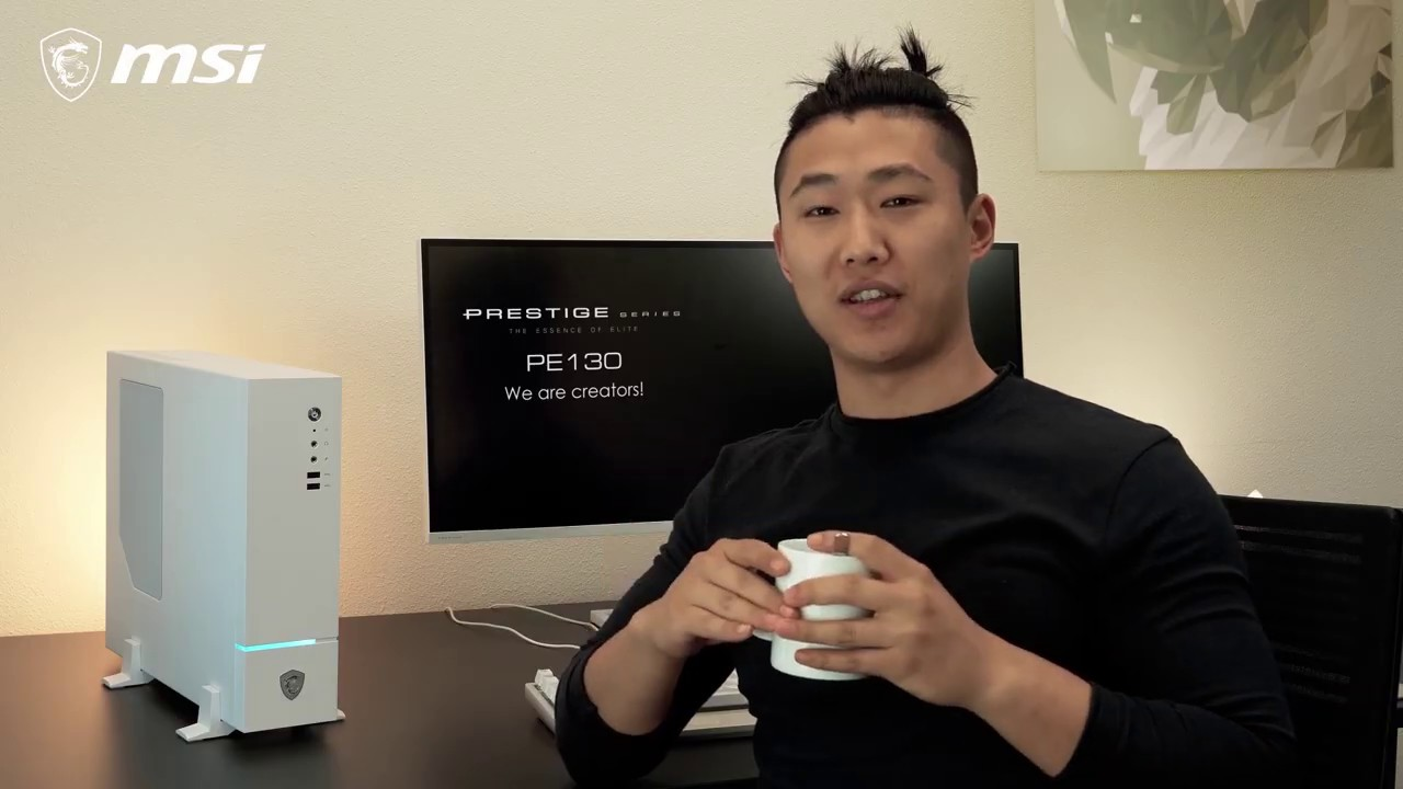 Découvrez l'ordinateur de bureau Prestige PE130 pensé pour la création de contenus