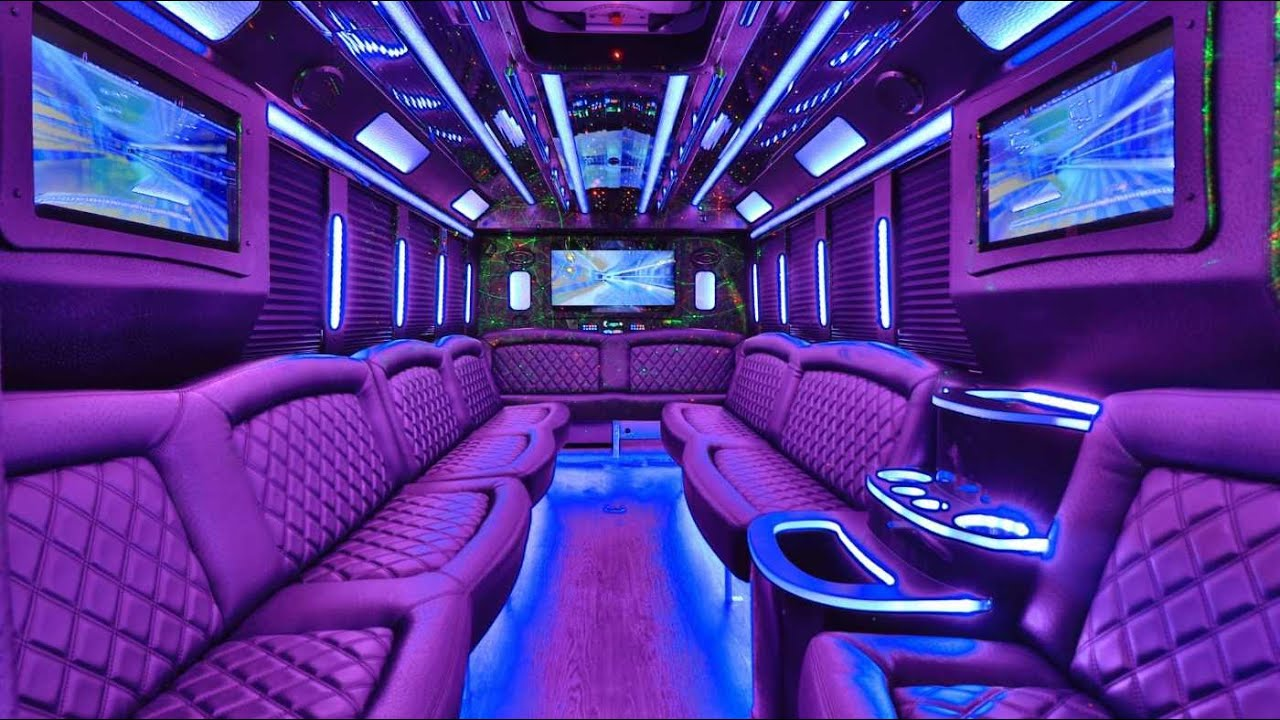 Luxurious Limo Bus for 20-28 Guests by Cali Party Bus ...