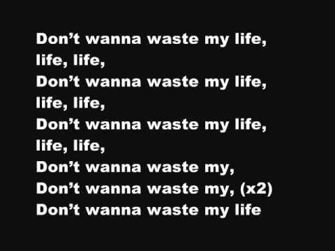 Don't waste your life-Lecrae (with lyrics) - YouTube