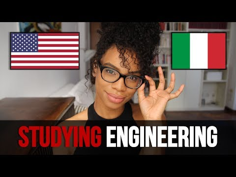 ITALY VS USA | STUDYING ENGINEERING [ENG CC]