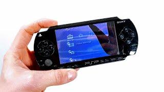 Let's Refurb! - Smashed Original Sony PSP!