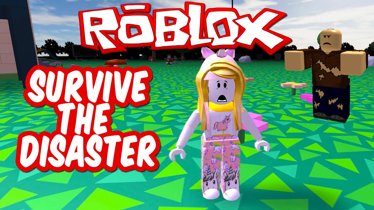 Survive The Disaster Lets Play Roblox Youtube