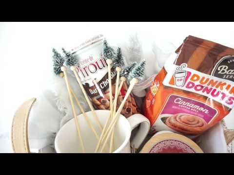 DIY Coffee Gift Basket