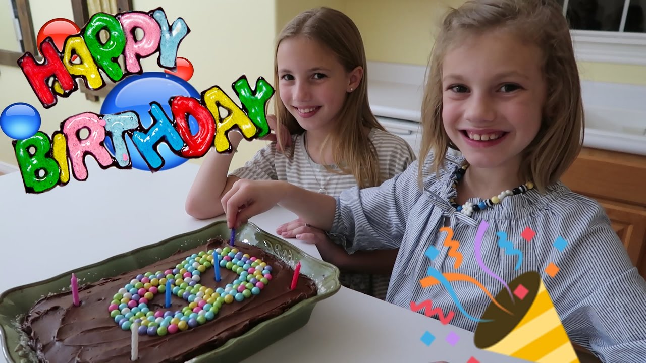 Julie S 8th Birthday Party 🎊 Youtube