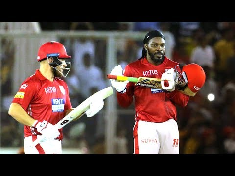 #Review: Gayle Storm sweeps across Punjab: #KXIPvSRH