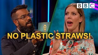 Should plastic straws be banned? | The Ranganation - BBC