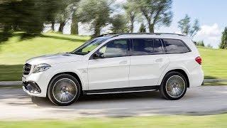 Découvrez le Mercedes GLS en vidéo