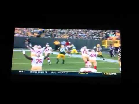 Mike Iupati @ green bay