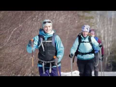 Maine Huts and Trails Winter Activity Promo