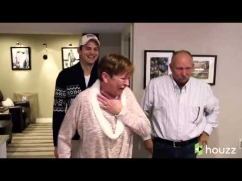 Ashton Kutcher surprises his mom with overthetop Mother's Day gift