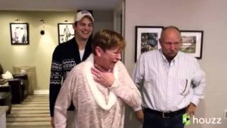 Ashton Kutcher surprises his mom with over-the-top Mother's Day gift
