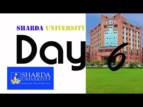 Behind the scenes | Sharda University, The World is here.