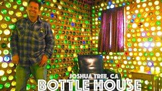 DIY Joshua Tree Tiny House made of 7500 Bottles! (How to Build