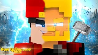 Minecraft Adventure - HOW TO BECOME THOR!