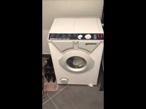 Lavatrice kenwood mini 1150 rapid youtube for Mini lavatrice