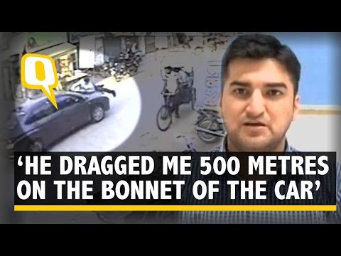 Gurgaon Road Rage: Man Dragged 500 Metres on the Bonnet of a Car