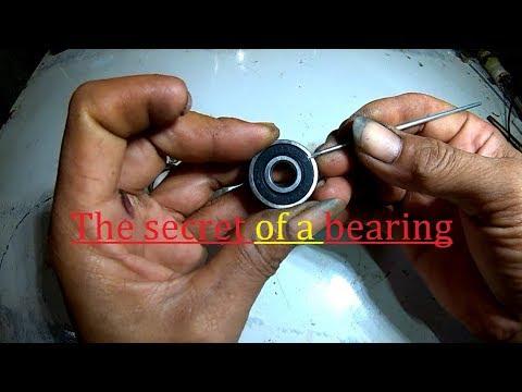 The secret of a ball bearing. (Rahasia sebuah bearing/laher.)