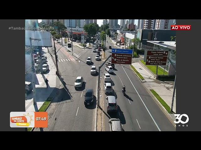 Trânsito - 11-06-2021 - Tambaú da Gente Manhã