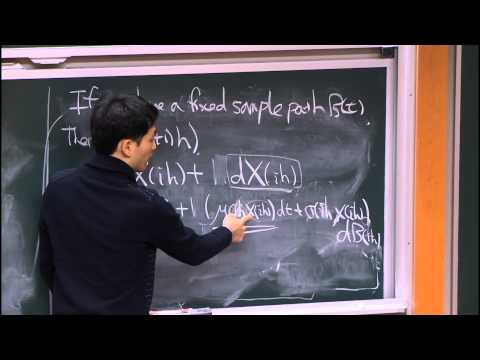 21. Stochastic Differential Equations