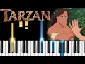 Phil Collins - You'll Be in My Heart (Tarzan) - EASY Piano Tutorial