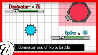 If Diep.io was like Pokemon [Pt.4]: Dominator (Animation)