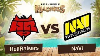 Hellraisers vs NaVi - Map1   Dota 2 Reshuffle Madness 2019   WePlay! Esports