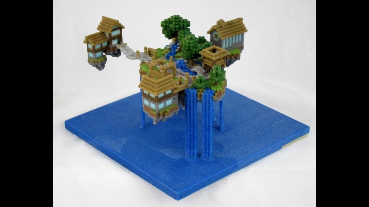 Minecraft How To Build Cool House On Water In 14 Minutes