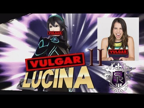 Vulgar Lucina 2! Voice Mod SHOWCASE! || Super Smash Bros. 4 (Wii U)