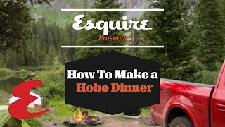 How To Make A Hobo Dinner