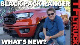 The Ford Ranger Gets Murdered Out with Brand New Black Appearance Package!