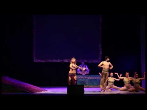 "Fabiola Suriano e Francesco Zappalà , muwashahat from ""ALADIN"" Musical"