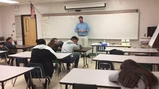 Student Falls Asleep in Class and the Teacher Plays a Prank