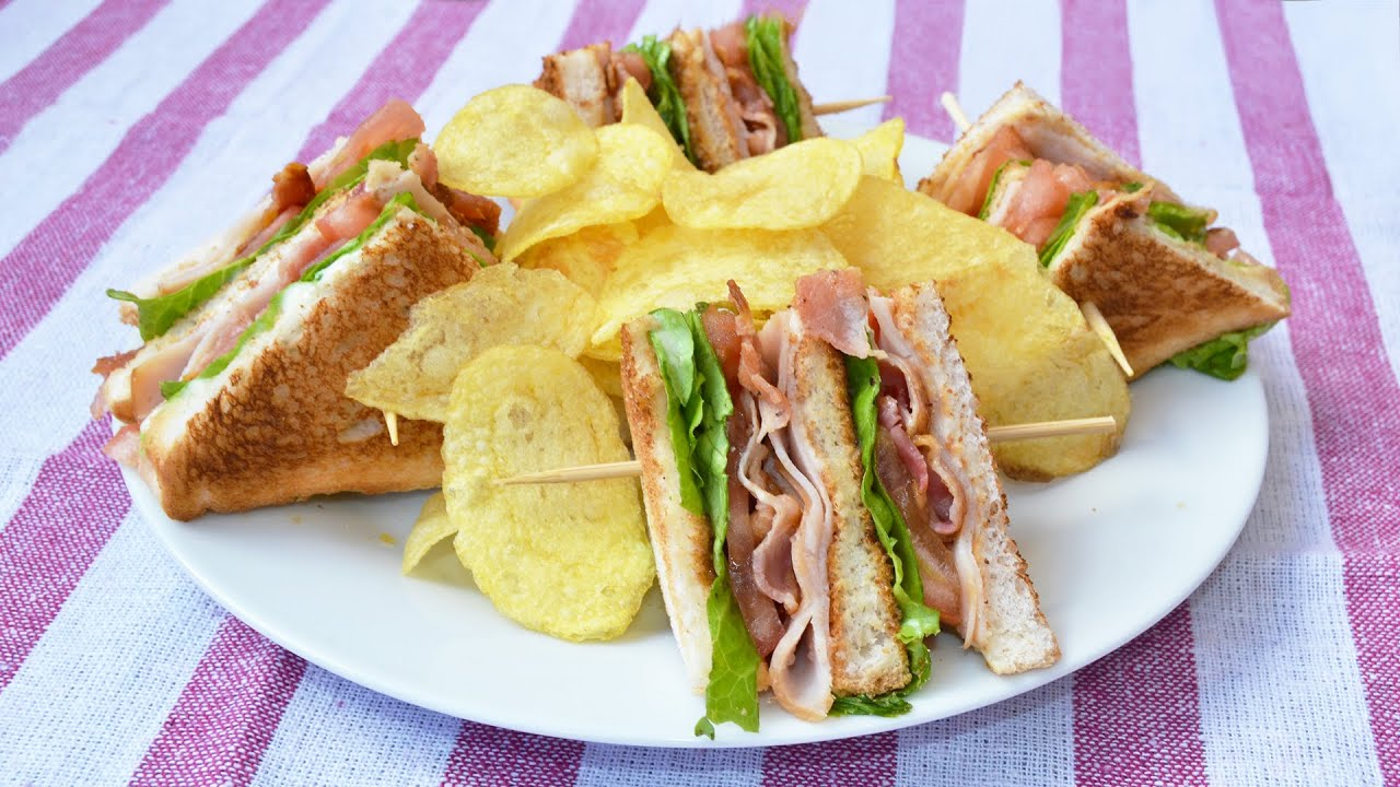 How to Make a Club Sandwich - Easy Club Sandwich Recipe ...