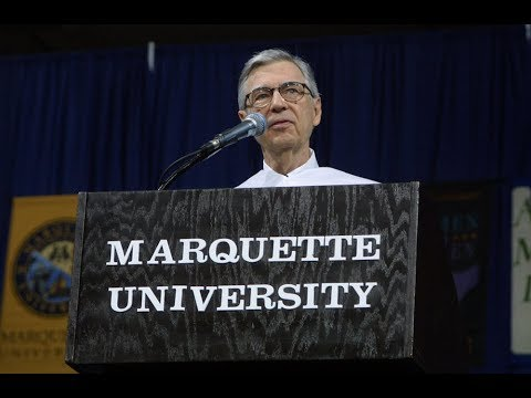 Fred Rogers' commencement address at Marquette University