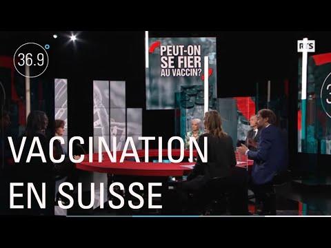 Vaccination en Suisse, pourquoi ça traîne ? - 36.9°