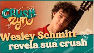 Wesley Schmitt revela sua maior paixão   Crushzyn
