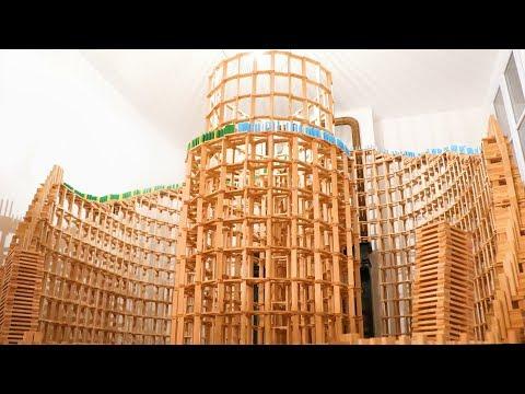 HUGE 6,000-Piece Domino Destruction! (w/ Kaplamino & Benjamin Crouzier)