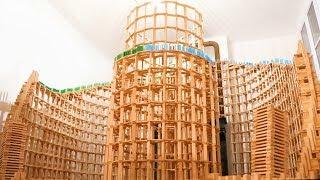 HUGE 6,000-Piece Domino Destruction! (w/ Kaplamino & Benjamin Crouzier) thumbnail